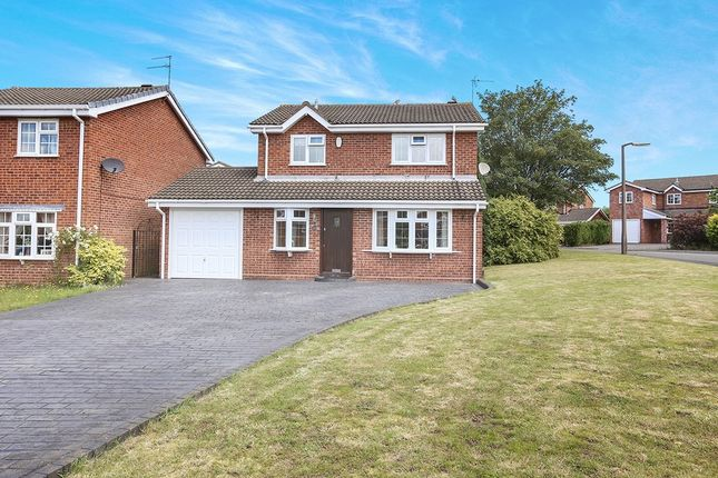Thumbnail Detached house for sale in Richmond Drive, Perton, Wolverhampton