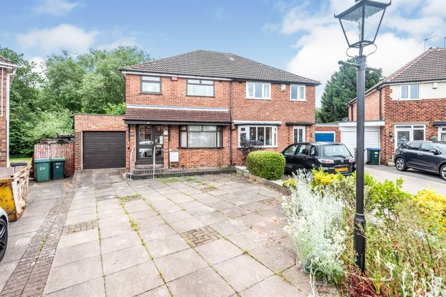 3 bed semi-detached house for sale in Woodland Grove, Great Barr, Birmingham B43