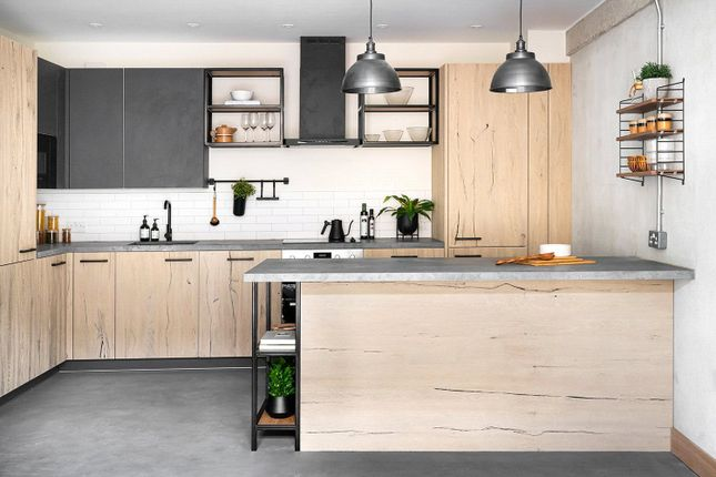 Kitchen of 3 Bedroom Apartments, Colour House, Bentley Road, London N1