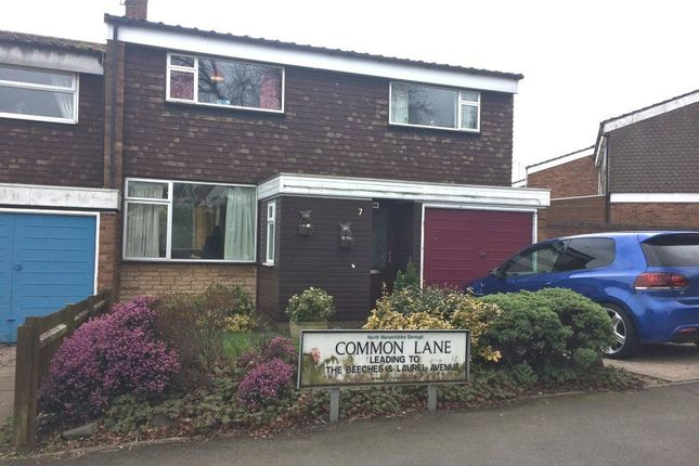 Thumbnail Property to rent in Common Lane, Polesworth