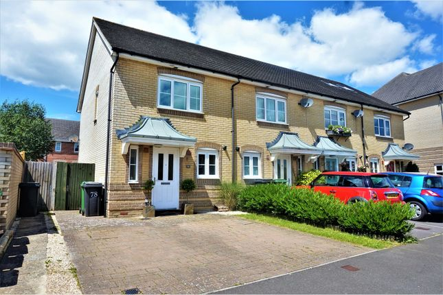 Thumbnail End terrace house for sale in Wiltshire Crescent, Basingstoke