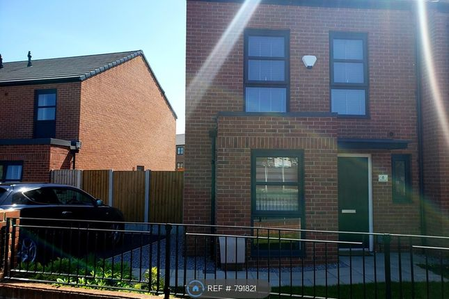 Thumbnail Semi-detached house to rent in Mellor Street, Manchester