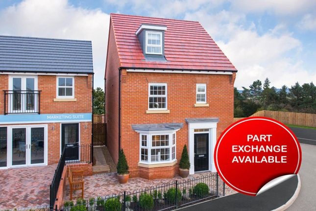 "Thumbnail Detached house for sale in ""Bayswater"" at Green Lane, Barnard Castle, Barnard Castle"
