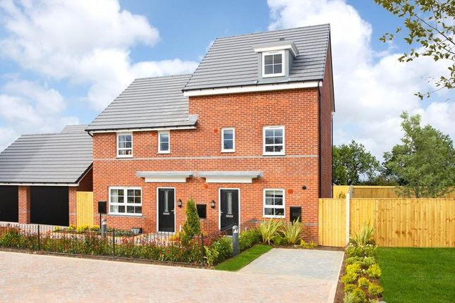"Thumbnail Semi-detached house for sale in ""Woodcote"" at Braeburn Drive, Appleton, Warrington"