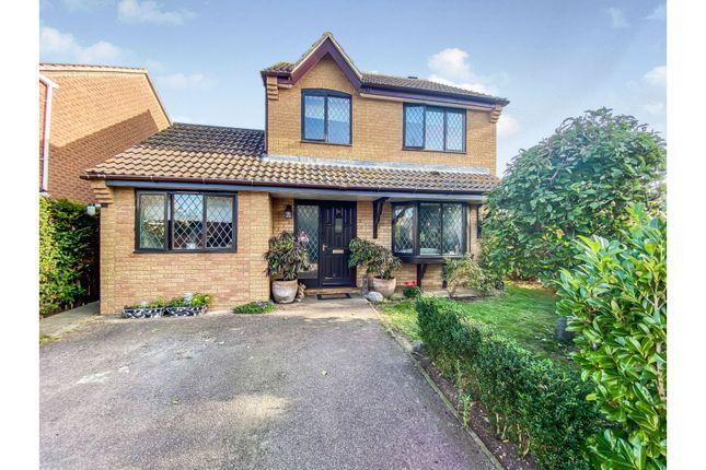 Detached house for sale in Borley Crescent, Bury St. Edmunds