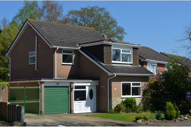 Thumbnail Detached house for sale in Hayward Crescent, Verwood
