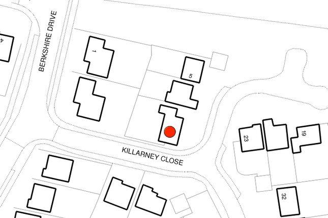 Detail Map of Killarney Close, Grantham NG31