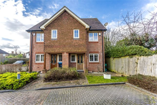 Semi-detached house for sale in Eaton Place, Caterham, Surrey