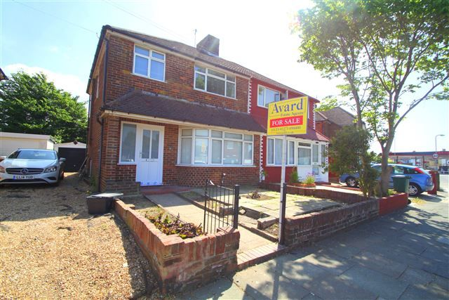 Thumbnail Semi-detached house for sale in Applesham Way, Portslade, East Sussex