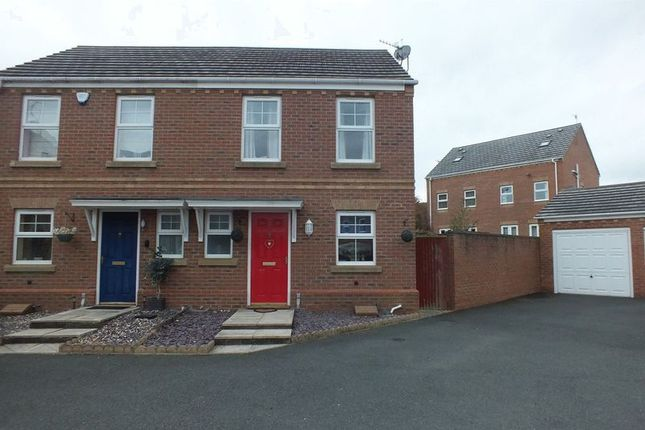 Thumbnail Semi-detached house for sale in Cricklewood Drive, Tunstall, Stoke-On-Trent