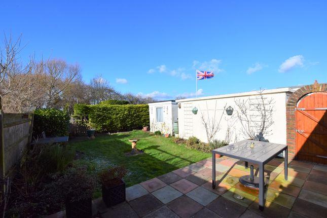 Rear Garden of Tower Close, Pevensey Bay BN24