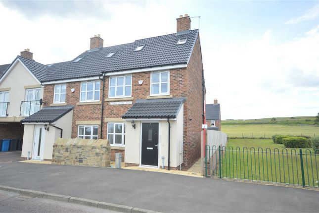 Thumbnail 3 bed end terrace house for sale in Thill Stone Mews, Whitburn, Sunderland, Tyne And Wear