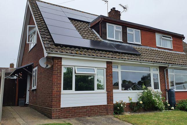 4 bed semi-detached house for sale in Gardeners Road, Debenham, Stowmarket IP14