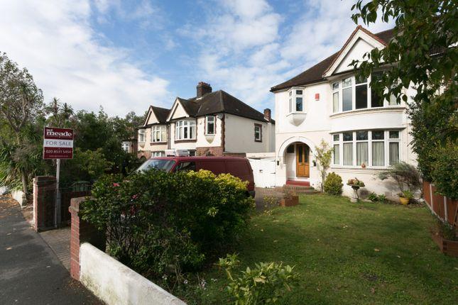 Thumbnail Semi-detached house for sale in Castle Avenue, London