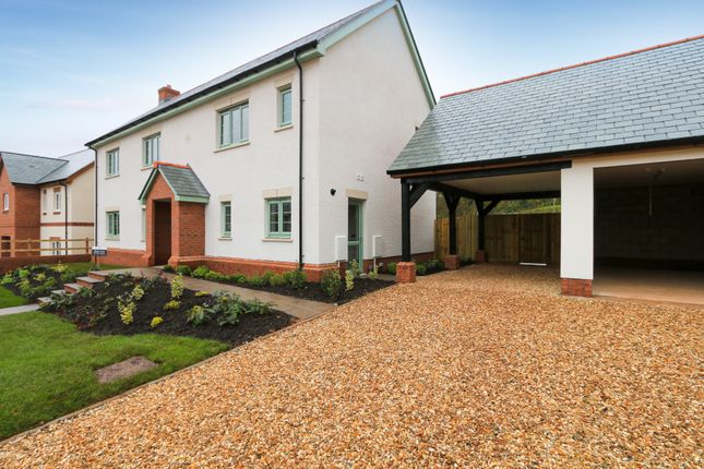 Thumbnail Detached house for sale in The Blossom, Rockbeare, Exeter