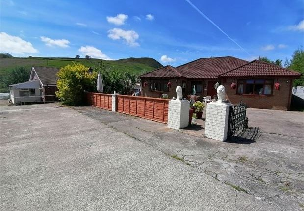 Thumbnail Detached bungalow for sale in Wattstown, Porth, Rct.