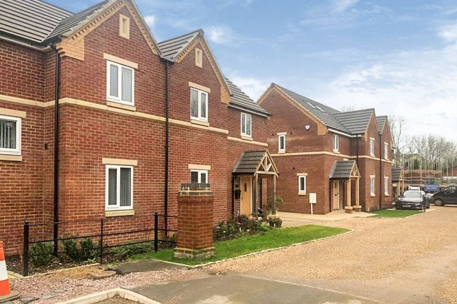Thumbnail Semi-detached house for sale in Pullman Close, Rushton, Kettering