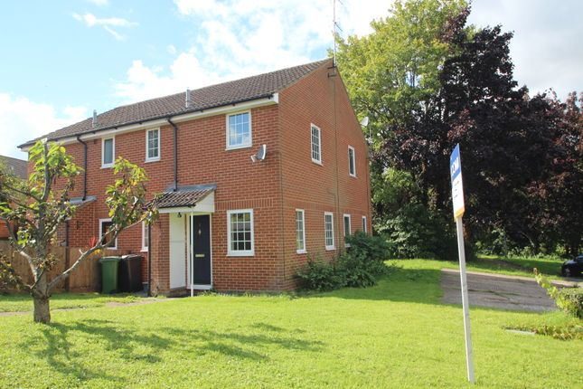 Thumbnail End terrace house to rent in Rembrandt Close, Basingstoke