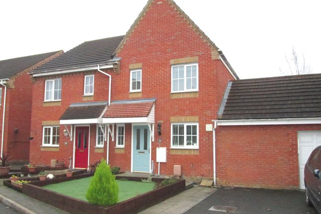 Thumbnail Semi-detached house for sale in Brunel Drive, Biggleswade