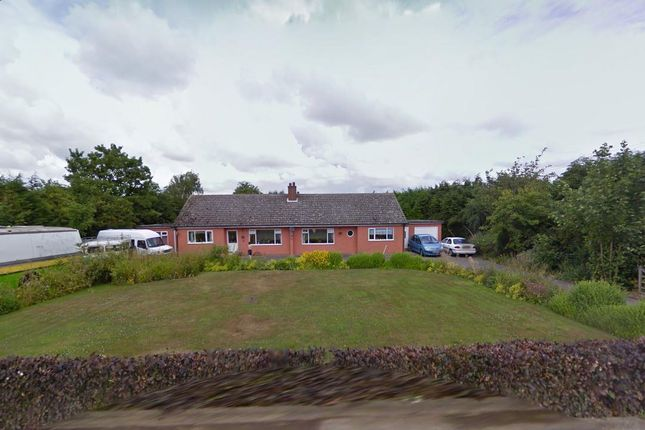 Thumbnail Detached bungalow for sale in Station Road, Old Leake, Boston