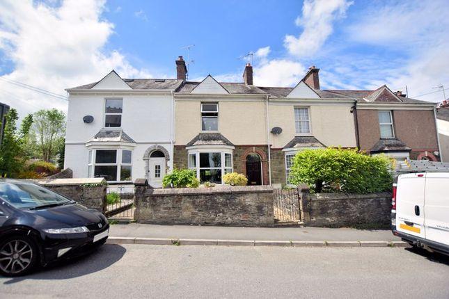 3 bed terraced house for sale in Callington Road, Tavistock PL19