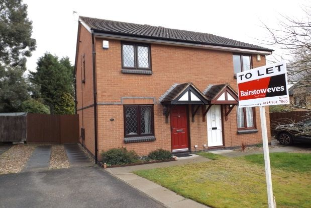 Thumbnail Semi-detached house to rent in Christopher Close, Wollaton, Nottingham
