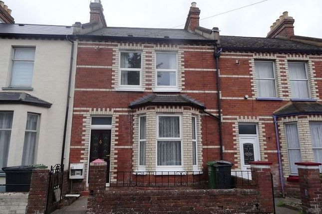 Thumbnail Terraced house to rent in Landhayes Road, Exeter