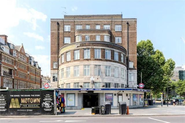 Thumbnail Studio to rent in Warren Court, Euston Road, London