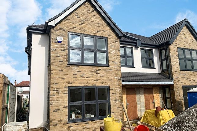 Thumbnail Semi-detached house for sale in Berkeley Gardens, Leigh-On-Sea, Essex