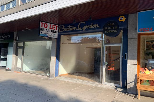 Thumbnail Retail premises to let in Great Western Road, Aberdeen