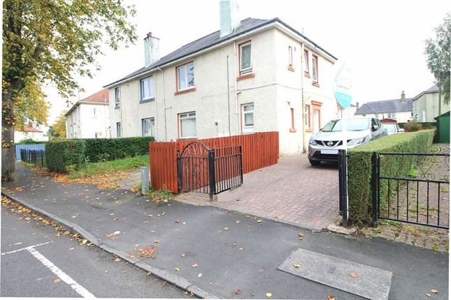 Thumbnail Flat for sale in Abbott Crescent, Clydebank