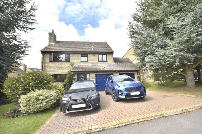 Thumbnail Detached house for sale in Cotswold View, Woodmancote, Cheltenham, Gloucestershire