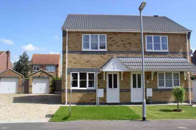Thumbnail Semi-detached house to rent in Lady Meers Road, Cherry Willingham, Lincoln