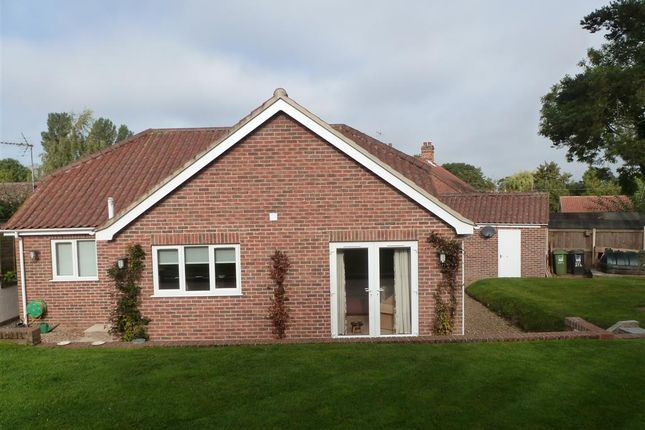 Thumbnail Detached bungalow for sale in The Street, Corpusty, Norwich