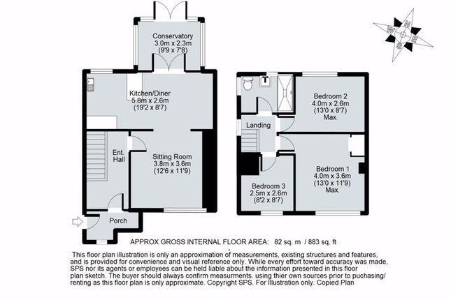 Floor Plan of Cherwell Avenue, Kidlington OX5