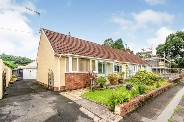 Thumbnail Semi-detached bungalow for sale in Swansea Road, Waunarlwydd, Swansea