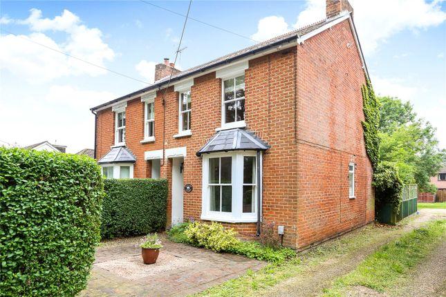 Thumbnail Semi-detached house for sale in Tweseldown Road, Church Crookham, Fleet