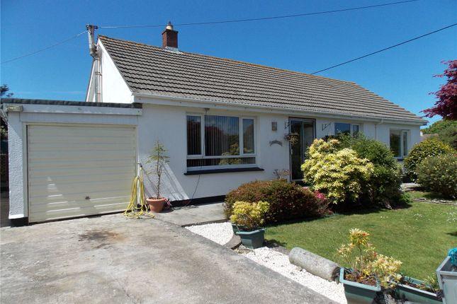 Thumbnail Detached bungalow for sale in West Tolgus, Redruth