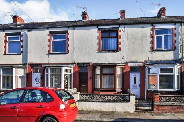 Front of Rydal Street, Burnley, Lancashire BB10