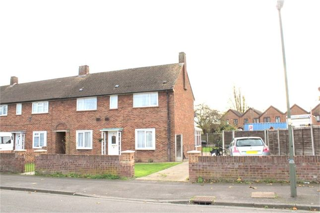 Thumbnail End terrace house for sale in St Annes Avenue, Stanwell, Staines-Upon-Thames