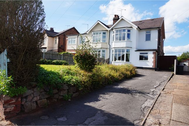 Thumbnail Semi-detached house for sale in Uttoxeter Road, Mickleover