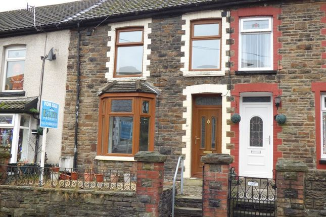Thumbnail Terraced house for sale in Dunraven Place, Ogmore Vale, Bridgend.