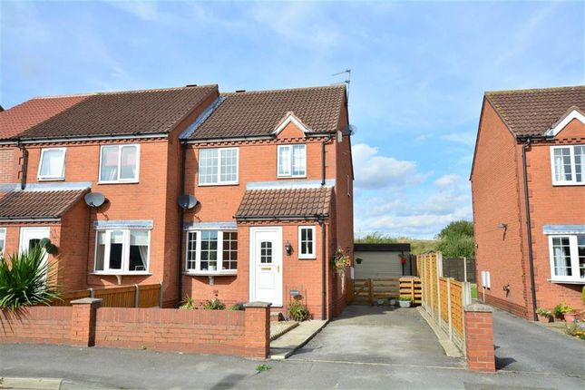 Thumbnail Semi-detached house for sale in Sandhall Drive, Goole