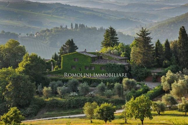 7 bed villa for sale in Greve In Chianti, Tuscany, Italy