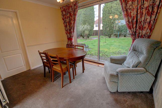 Dining Room of Hillside, Brownhills, Walsall WS8