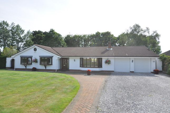 Thumbnail Detached bungalow for sale in Pipers Close, Heswall, Wirral