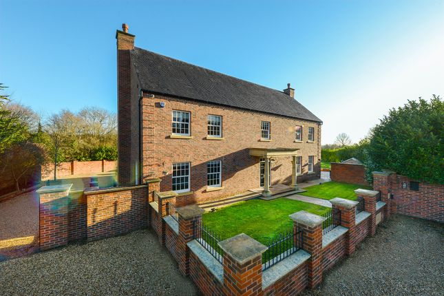 Thumbnail Detached house for sale in Plough Lane, Lowdham, Nottingham