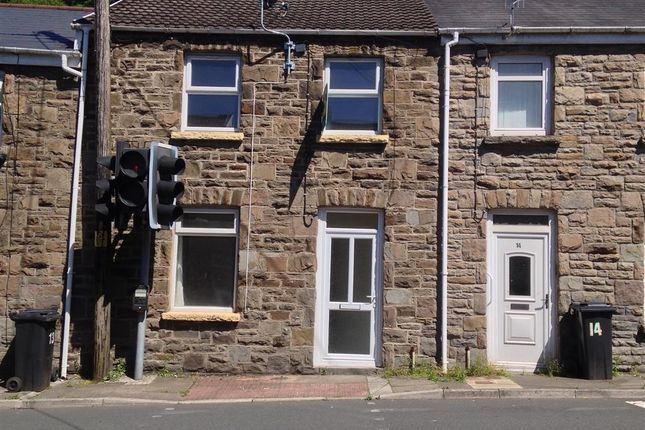 Thumbnail Terraced house to rent in Cardiff Road, Merthyr Vale, Merthyr Tydfil