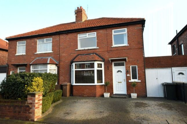 3 bed semi-detached house for sale in Foxton Avenue, Cullercoats, North Shields