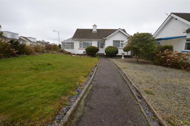 Thumbnail Detached bungalow for sale in Penware Parc, Camborne, Cornwall